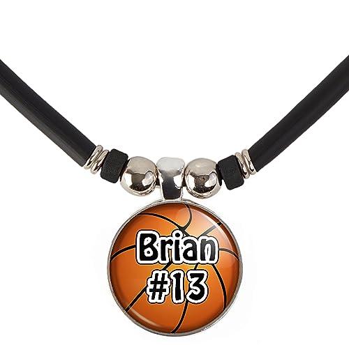 Amazon.com: Collar de baloncesto personalizado con tu nombre ...