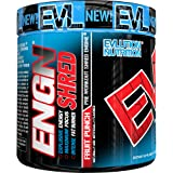 Evlution Nutrition ENGN SHRED Pre workout Thermogenic Fat Burner Powder, Energy, Weight loss, 30 Servings (Fruit Punch) Picamilon Free