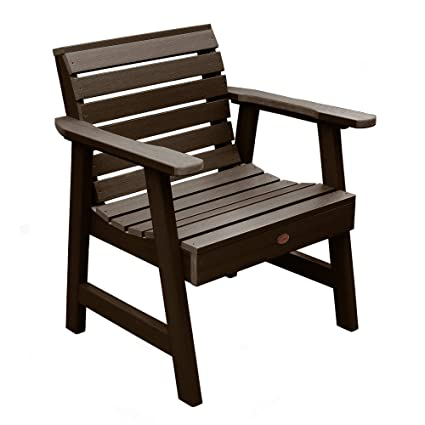 Highwood Patio Furniture.Highwood Weatherly Garden Chair Weathered Acorn