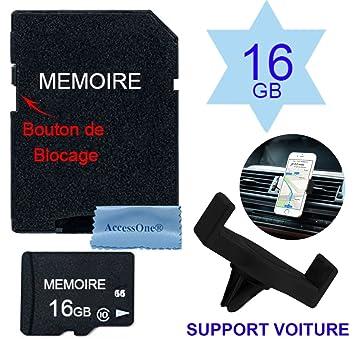 Tarjeta memoria Micro SD 32 GB clase 10 con adaptador para ...