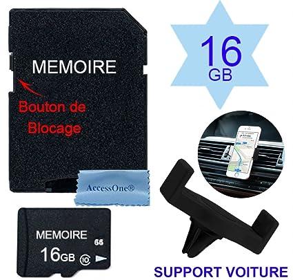 Tarjeta memoria Micro SD 32 GB clase 10 con adaptador para Android ...