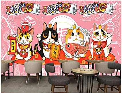 3d Customized Wallpapers Japanese Style Large Mural