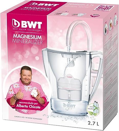 BWT Penguin Electrónica – Jarra filtradora de agua con magnesio 2 ...