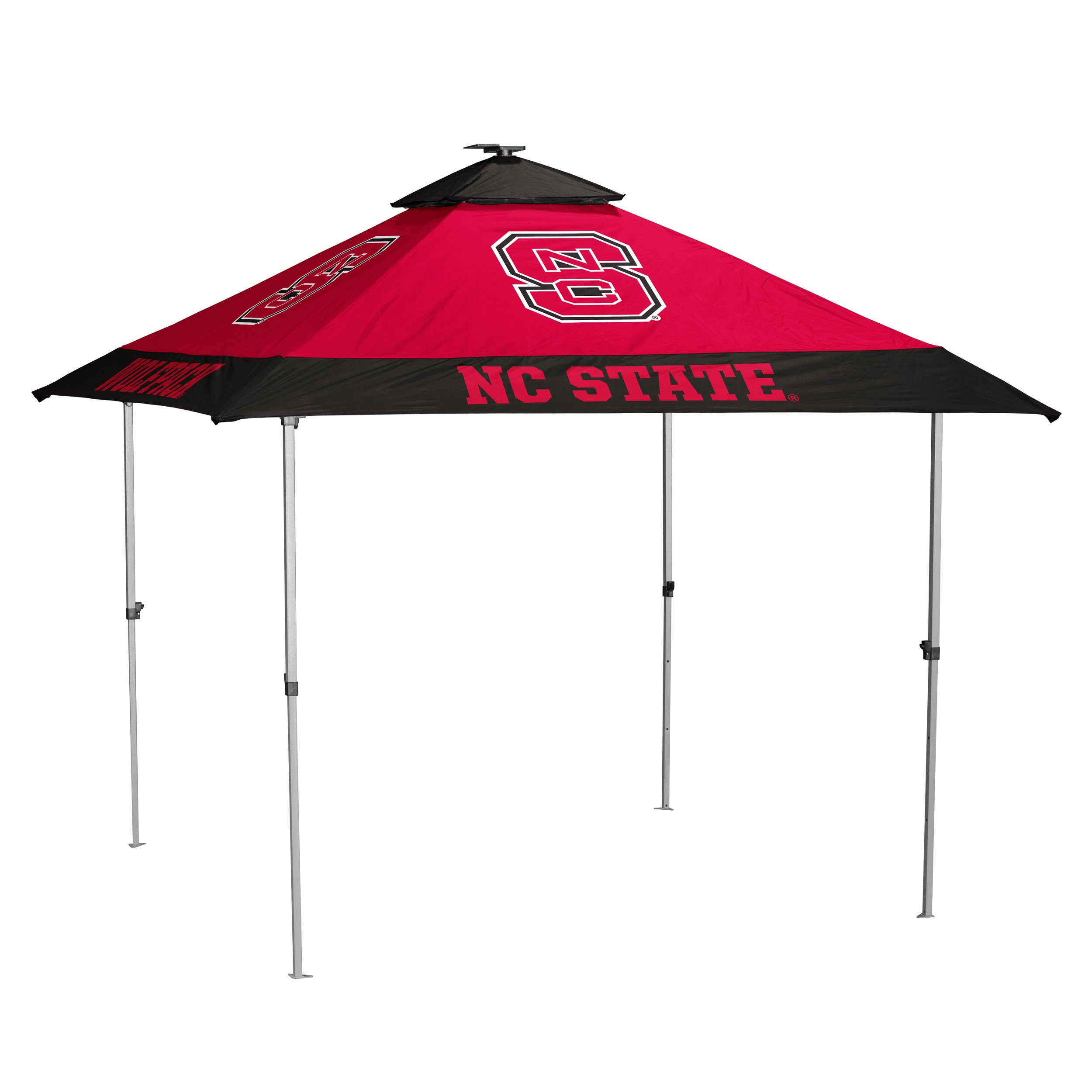 Logo Brands NCAA North Carolina State Wolfpack Unisex Pagoda Tent, Red, One Size