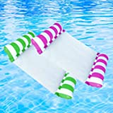 Raoccuy Swimming Pool Float Hammock - Multi-Purpose Inflatable Hammock Saddle, Lounge Chair, Hammock, Drifter, Water…