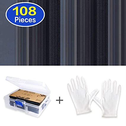 9 x 3.6 Inch 68 Pieces 60 to 3000 Grit Sandpaper Assortment Dry// Wet