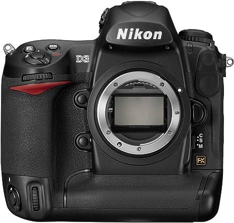 Nikon D3 - Cámara Réflex Digital 12.1 MP (Cuerpo): Amazon.es ...
