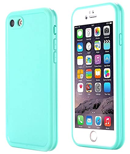 purchase cheap dd7f5 2c76f Small Knife iPhone SE Waterproof Case, Super Slim Thin Light [360 All Round  Protective] Full-Sealed IPX-6 Waterproof Shockproof Dust/Snow Proof Case ...