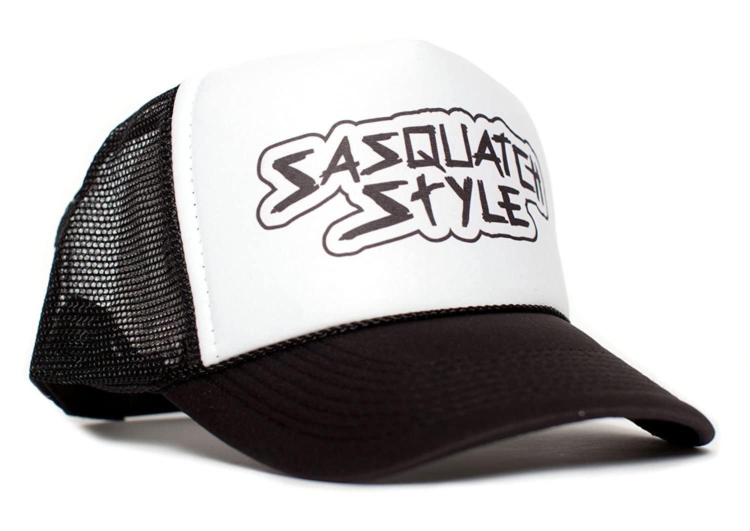 Sasquatch Style Gone Squatchin trucker hat One-Size Unisex Multi Color  Selection (Black White) at Amazon Men s Clothing store  b51ec1b5aa4