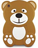 iConnect Kid Covers: Silicone Animal Case for iPad mini - Bear