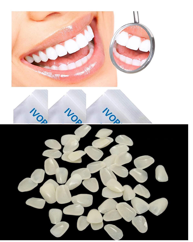 IVORIE Ultra Thin Whitening Veneers Resin Teeth Upper Anterior 50PCS (A2)