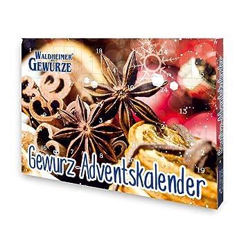 Gewürz Weihnachtskalender.Waldheimer Gewürz Adventskalender Amazon De Spielzeug
