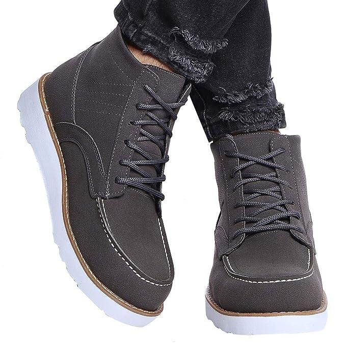 outlet store sale 70086 87071 LEIF NELSON Herren Schuhe Klassische Stiefel Freizeitschuhe Boots Elegante  Winterschuhe Männer Sneakers LN161