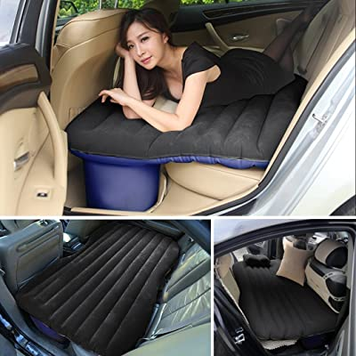 Ancheer Multifunctional Inflatable Car Mattress, Car Inflation Bed