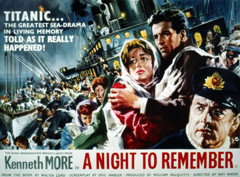 A Night To Remember Movie Poster Masterprint (71.12 x 55.88 cm ...