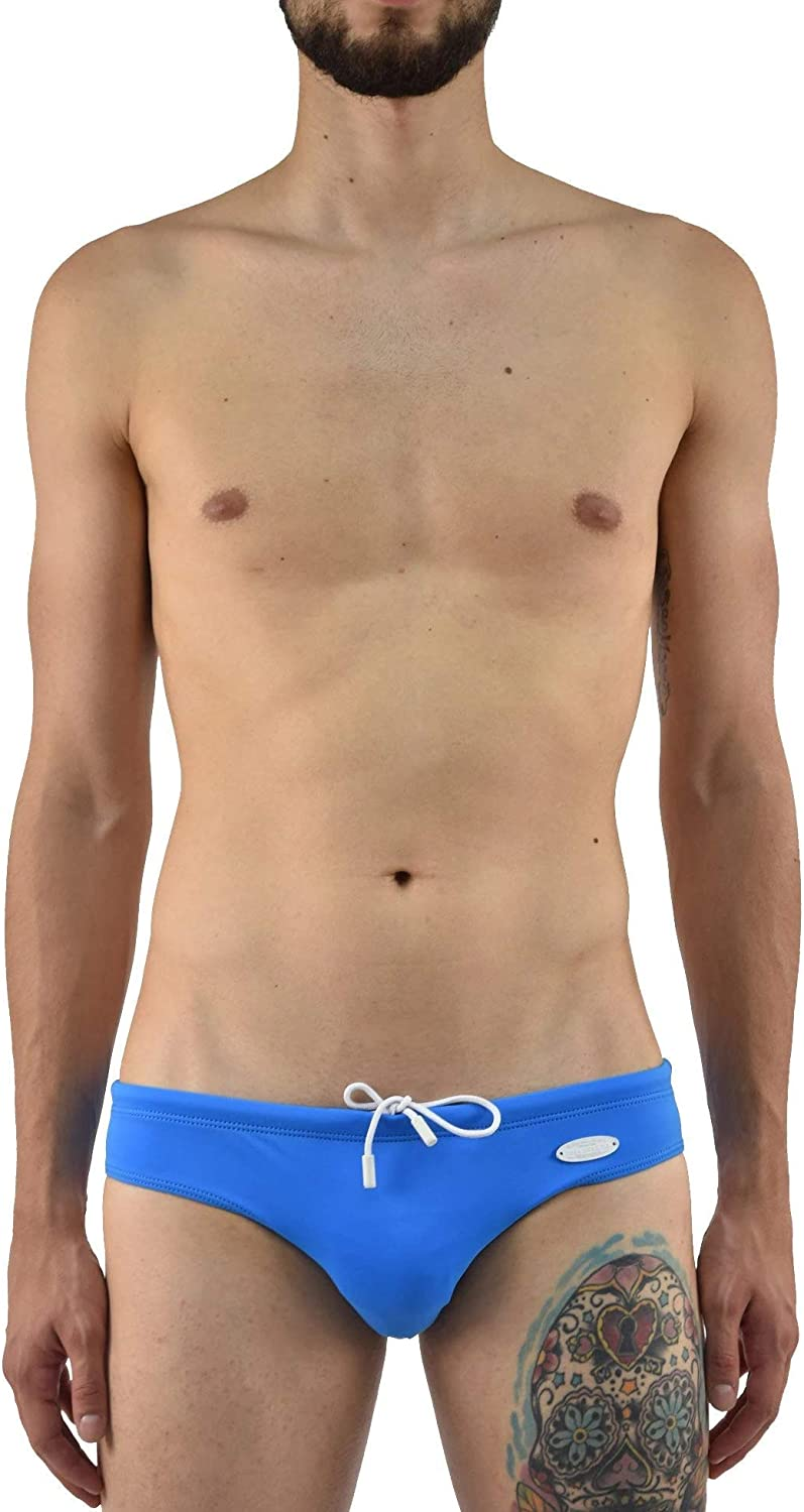B017XMBEXE DSQUARED2 Swimwear Swim Slip Light Blue Tag Men - Size: M - Color: Turquoise - New 71MCmXlRX7L.UL1500_