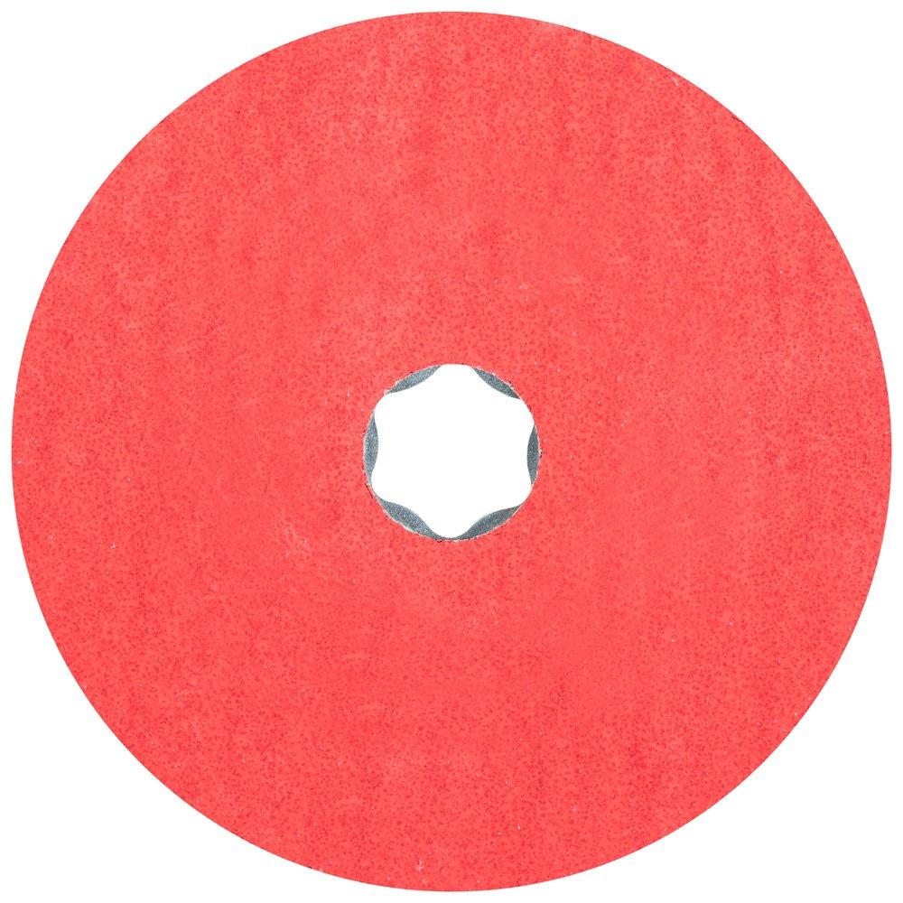 4-1//2 Diameter PFERD Inc. 13300 RPM 50 Grit Pack of 25 PFERD 40727 Combiclick Fibre Disc Ceramic Oxide Co-Cool 4-1//2 Diameter