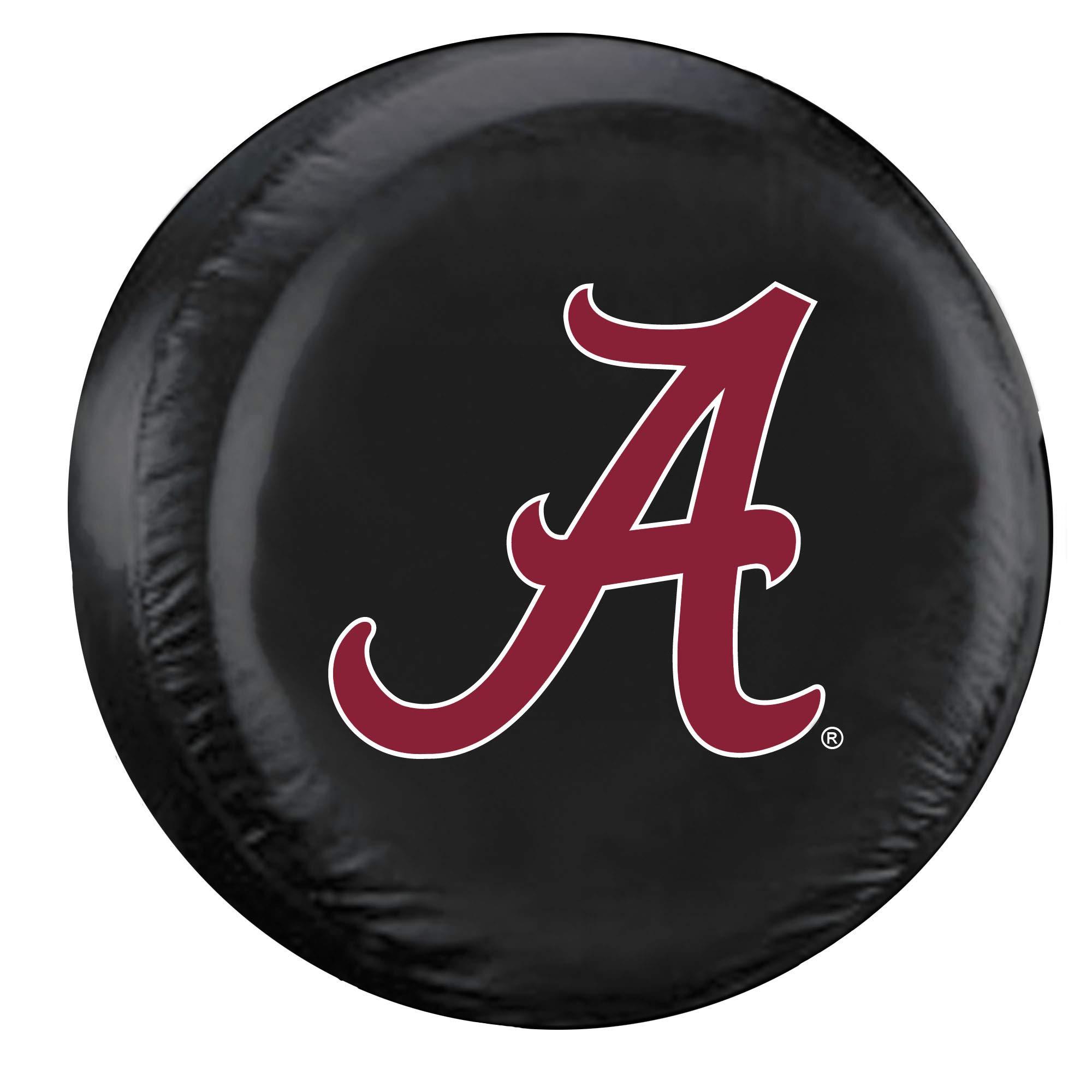Fremont Die NCAA Alabama Crimson Tide Tire Cover, Standard Size (27-29'' Diameter)