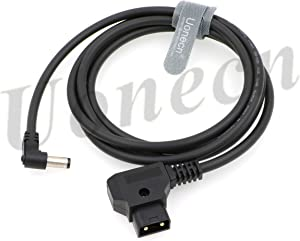 1.5M Dtap to Right Angle DC Power Cable 2.1mm 12V for KiPRO LCD Monitors Lectrosonic Lowel Blender LED Power Tap-Lectro Devices