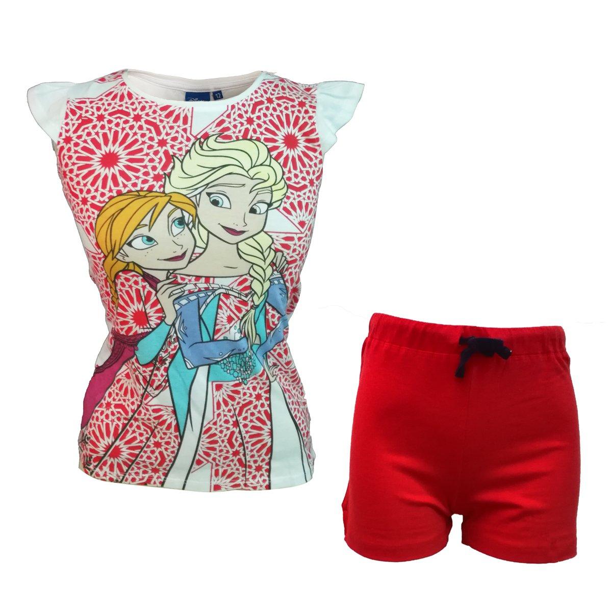 Disney completo bambina/ragazza mezza manica corto in cotone FROZEN art. 5944