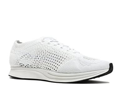 c06ce55bad4fc ... italy nike men flyknit racer running white white sail pure platinum  dc364 d32ee
