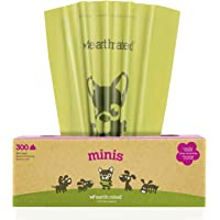 Earth Rated Mini Poop Bags, Lavender-Scented, Pet Waste Bags for Small Dogs, 300 Bags on a Single Roll, Each Dog Poop…