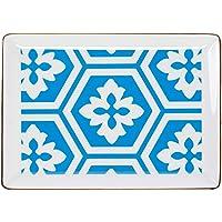 Porland Morocco Ds.2 Mavi Kahvaltı Tabağı 18 cm, Porselen