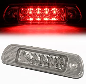 Fit 11-17 Jeep Grand Cherokee Smoked Lens Third 3rd Tail Brake LED Light Lamp