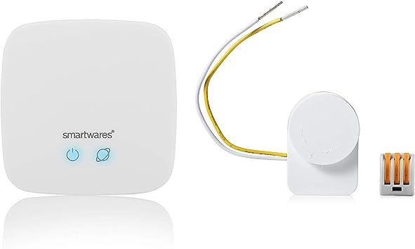 Tambi/én Compatible con Philips Hue Smartwares SH8-99604 Set conversor de Interruptor de Pared Smart Switch Link