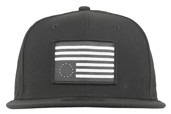 b11b8df9 Black Scale Rebel Flag Patch Fitted Hat New Era 59Fifty Mens BLVCK SCVLE 7  3/