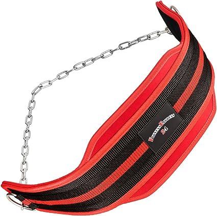 Dip-Gürtel mit Kette Klimmzüge Dipgürtel Gewichtsgürtel Trainingsgürtel