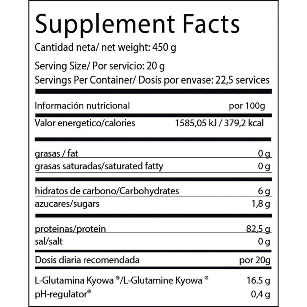 BIG Glutamine - 450 gr: Amazon.es: Salud y cuidado personal