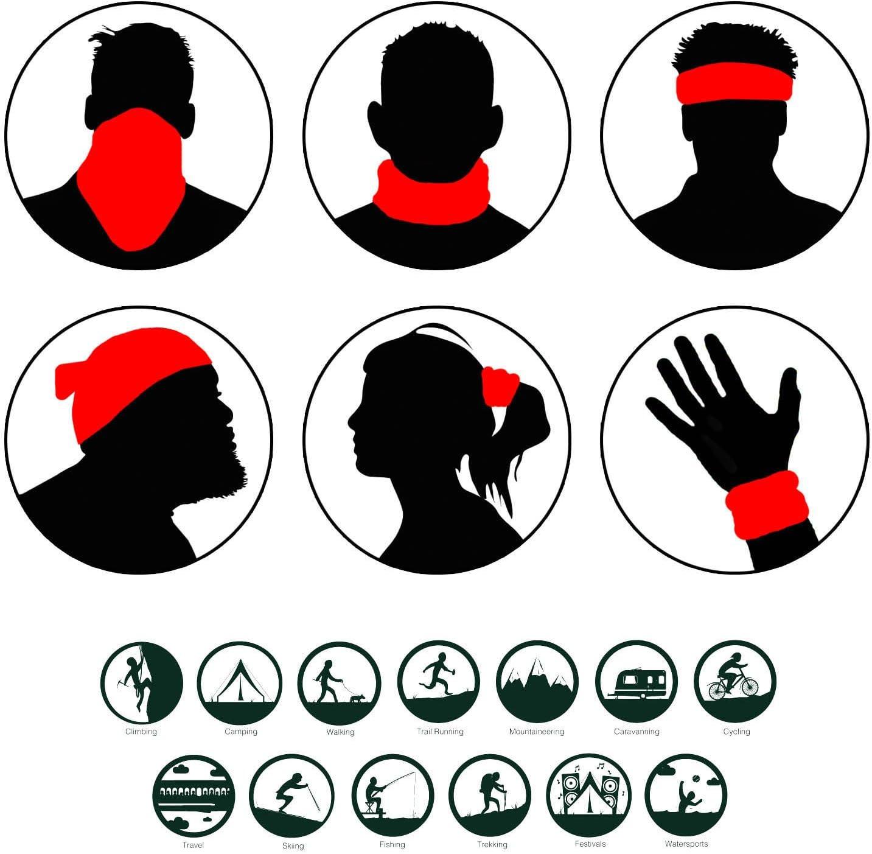 3d Printing Neck Tube Motorrad Bandana Hals Gaiter Thin Ski Maske Multifunktionale Balaclava Kopfbedeckung Ohr Wärmer Stirnband Headwrap Sport Freizeit
