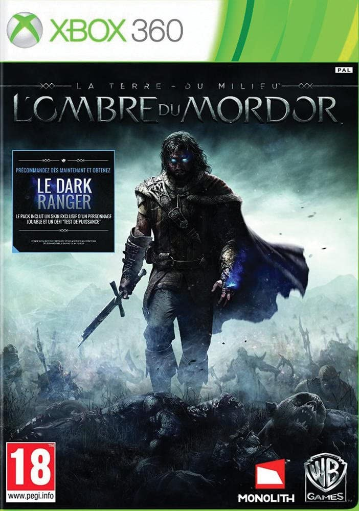 Warner Bros Middle-Earth: Shadow of Mordor, Xbox 360 Básico Xbox 360 Inglés, Italiano vídeo - Juego (Xbox 360, Xbox 360, Acción / RPG, M (Maduro)): Amazon.es: Videojuegos