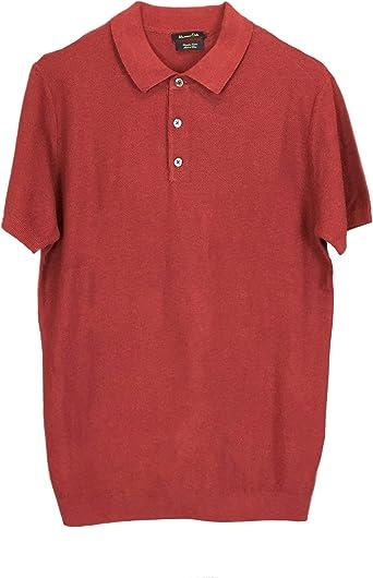 Massimo Dutti 0930/454/658 - Polo de algodón para hombre ...