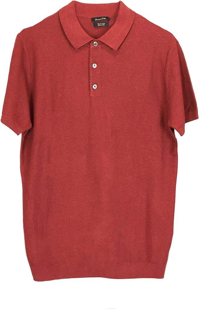 Massimo Dutti 0930/454/658 - Polo de algodón para Hombre: Amazon ...