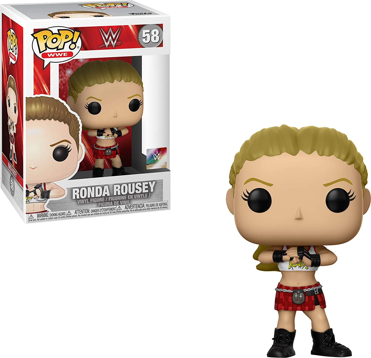 Funko 35922 Pop - Vinilo Decorativo para Pared, diseño de Ronda Rousey,  Multicolor: Amazon.es: Juguetes y juegos