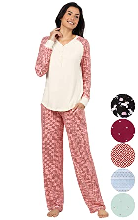 Addison Meadow Womens Pajamas Cotton - PJ Sets for Women ceb5c75cc