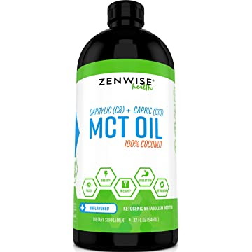 Natural Coconut MCT Oil