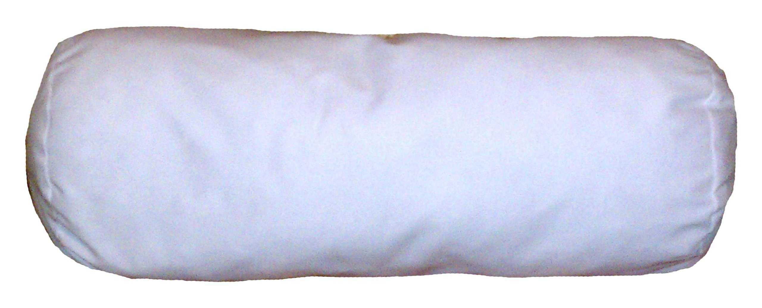 18x60 Inch Bolster Cylindrical Pillow Insert Form by ReynosoHomeDecor