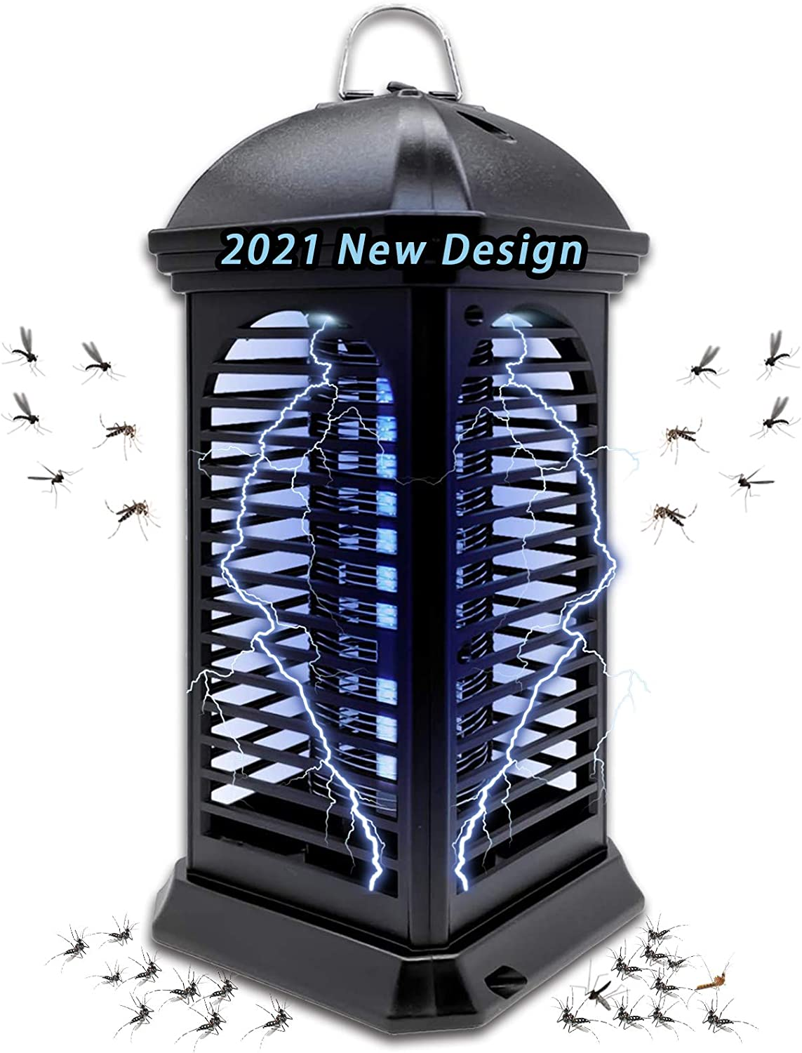 Bug Zapper,Powerful Insect Killer,Electronic Mosquito Zapper Killer - Fly Zapper Mosquito Zapper Electronic Insect Killer,with Uv Mosquito Lamp for Indoor,Home