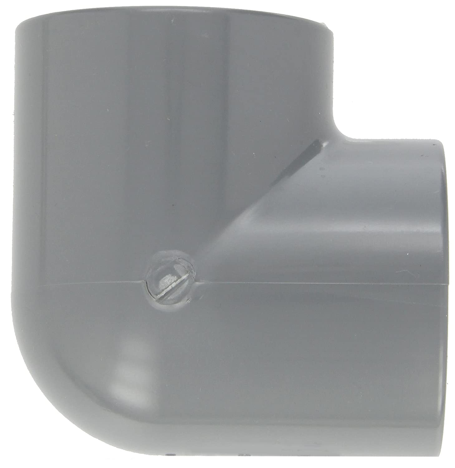 Nipple Spears 88-C Series CPVC Pipe Fitting 1-1//2 NPT Male Gray 4 Length Schedule 80