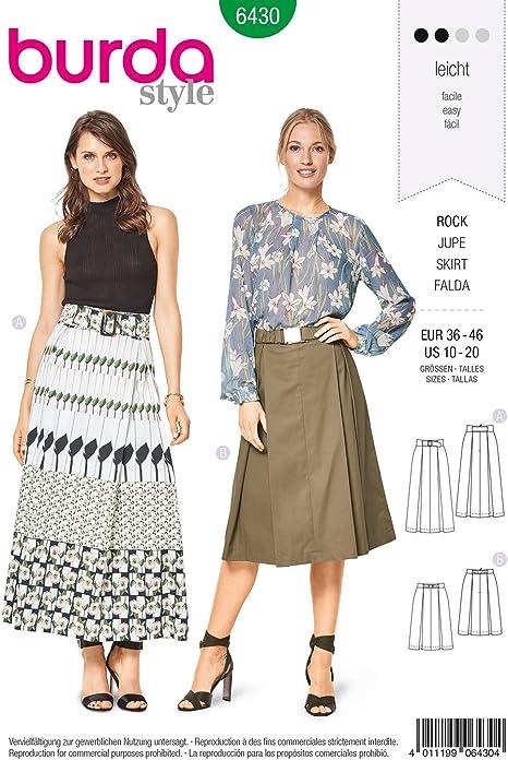 Patrón de costura Burda Style b6430 – Patrones de costura para ...