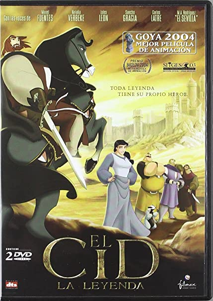 Amazon.com: Spaniard Animation Collection (4 Films) - 7-DVD Box Set (El ratón Pérez / P3K: Pinocho 3000 / Goomer / El Cid: La leyenda)  (The Hairy Tooth ...