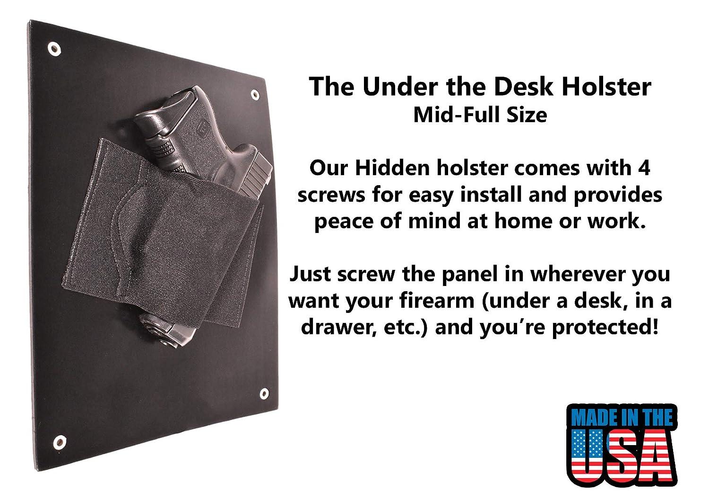 Under Desk Holster Best Place To Buy A Computer Desk