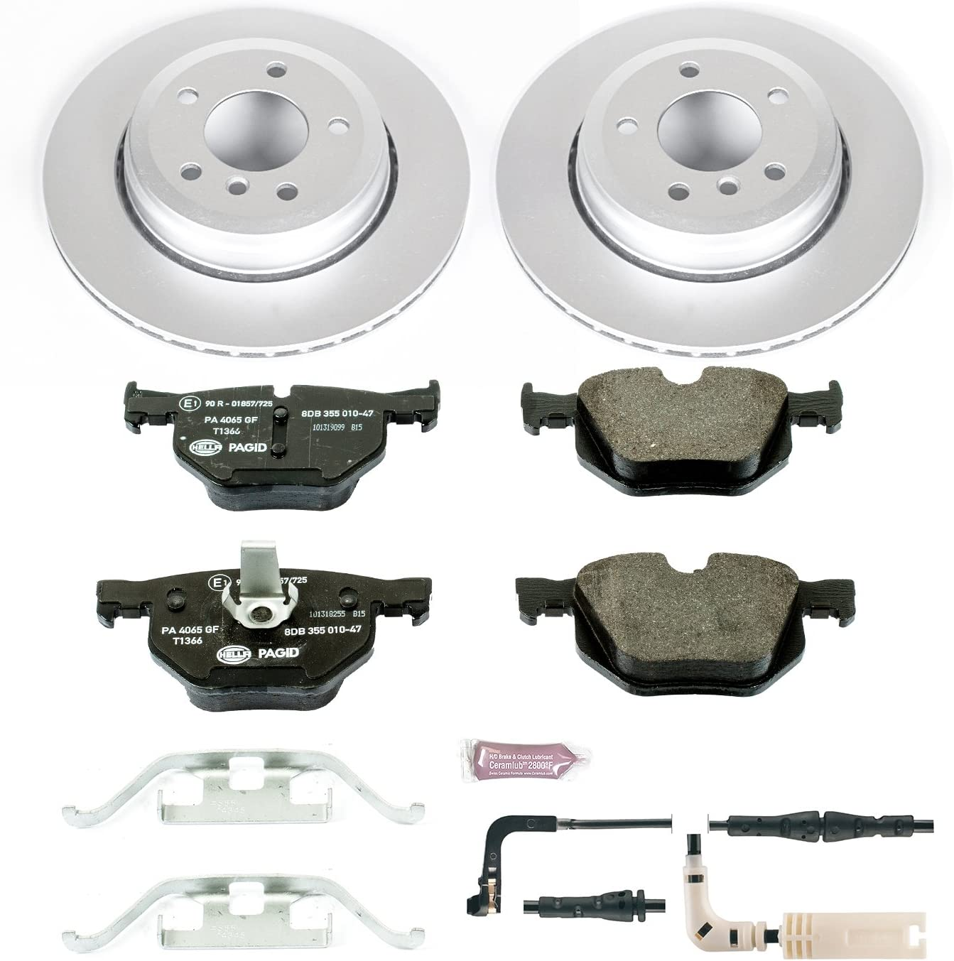Power Stop ESK044 Rear Euro-Stop Brake Kit BMW