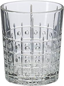 Bormioli Rocco Este DOF Glass, Set of 4, 13.5 oz, Clear