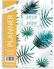 2019-2020 Academic Planner, Weekly Monthly Planner, July 2019 - June 2020, 12 Monthly Tabs, 5.8 x 8.3 Inches