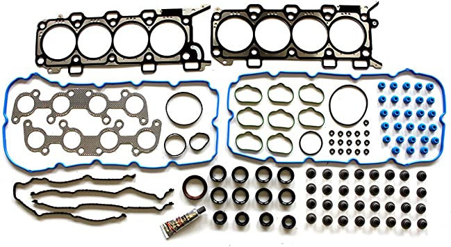 SCITOO Replacement for Head Gasket Set with Bolts Ford F-150//F-250 Lincoln 5.4L V8 1997-1999 Engine Head Gaskets Sets Kit