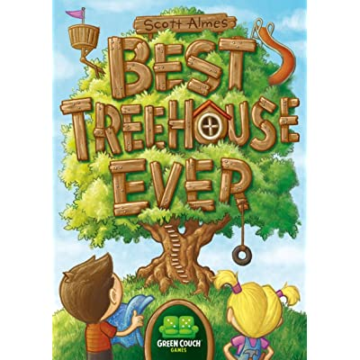 Best Treehouse Ever Card Game: Toys & Games